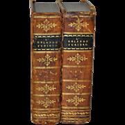 L' Orlando Furioso Vol I, II by Ludovico Ariosto c.1823