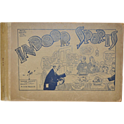 "Antique Comic Book ""Indoor Sports"" by TAD Dorgan c.1915"