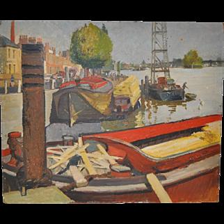Aileen Rose Dent (Australia, 1890-1979) Original Oil Painting c.1950