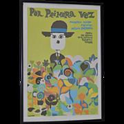 """""""Por Primera Vez"""" Vintage Documentary Movie Poster c.1968"""