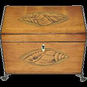19th Century English Tea Caddy