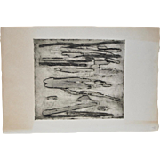 Arnold Grossman (American, 1923 - 2016) Monoprint