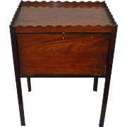 19th Century Drop Front Rosewood Cabinet / Side Table