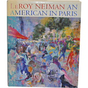 LeRoy Neiman An American In Paris Signed Art Book