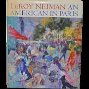 LeRoy Neiman An American In Paris Signed Art Book
