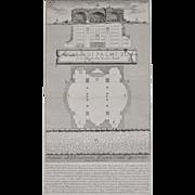 19th Century Piranesi Architectural Engraving