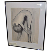 Laura LaForet Leng Charcoal on Paper - The Stretch