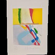 John Angus Chamberlain (1927-2011) Original Color Lithograph c.1980s