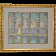 Eva Sikorski (1917-1990) Impressionist Oil Painting