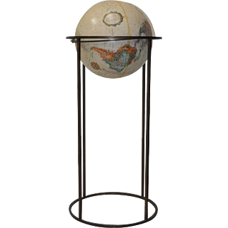 "12"" World Globe on Stand by Replogle"