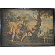 Late 19th to Early 20t Century Mythological Oil Painting