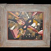 Edgar Stareck (1917-1987) Original Oil Painting