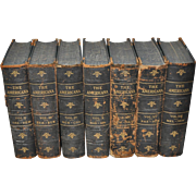 "Seven Volumes of ""The Americana"" c.1910"