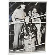 "Jim ""Cinderella Man"" Braddock Press Photo c.1937"