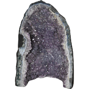 Natural Amethyst Geode Sculpture