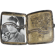 Sterling Card Case w/ Monogram and Inscription c.1917
