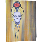 Surreal Vision Acrylic Painting