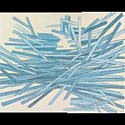 Herbert Bayer (BAUHAUS) Original Lithograph c.1965