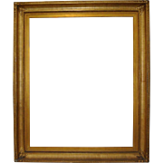 Monumental Late 19th Century Gilded Frame c.1890s