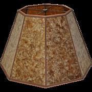Mission Arts & Crafts Mica Lamp Shade