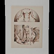 "James Drake ""Revelation"" Pencil Signed Lithograph c.1973"