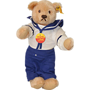 "Vintage Steiff ""Sailor Boy"" Plush Bear c.1980s"