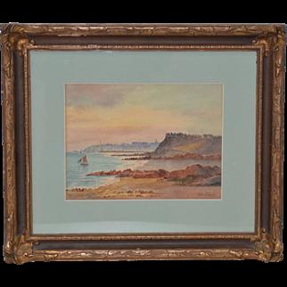 San Francisco Watercolor by Victor DeLaunay