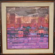 Robert Inman Abstract Painting c.1960