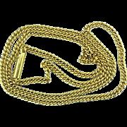 Handmade 22 Karat Gold Chain