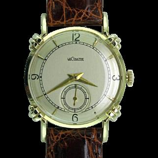 Mid Century Modern 14K Jaeger-LeCoultre Wristwatch