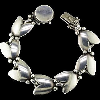 Georg Jensen Sterling Tulip Bracelet