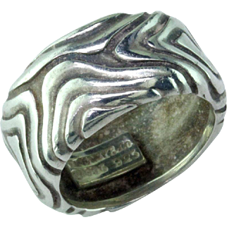 Tiffany Sterling Silver Ring