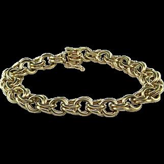 14K Heavy Charm Bracelet