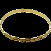 21 Karat Gold Bangle Bracelets