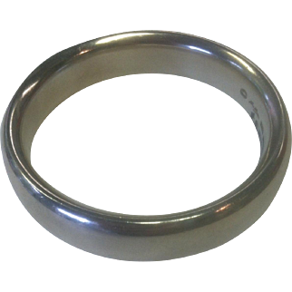 Sterling Silver Georg Jensen Bangle  Bracelet Designed by Hans Hansen