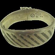 Sigi (Sigfrido Pineda) Sterling Silver Bracelet