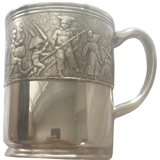 Tiffany Sterling Silver Child's/Baby/Christening Cup