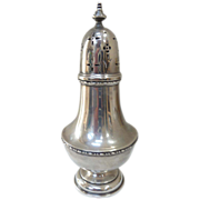 1925 Birmingham England Sterling Silver Sugar Shaker/Muffineer