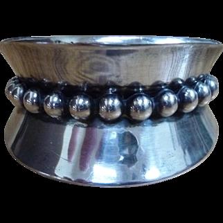 Vintage Alfredo Villasana Taxco Mexico Sterling Silver Bracelet