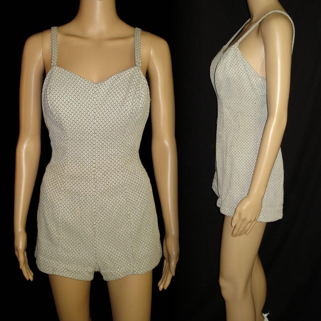 Vintage 1950s swimsuit 50s jantzen swimsuit 1950s for 41 river terrace new york ny 10282