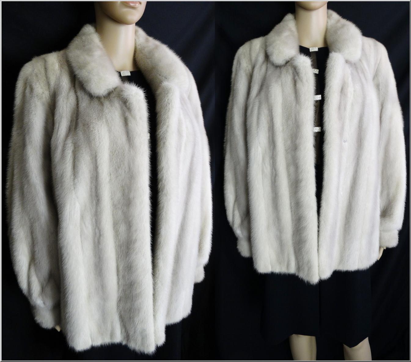 Silver mink jacket vintage mink mink stole from for 41 river terrace new york ny 10282