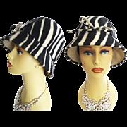 Vintage 1960's Hat//Chapeaux Original// Garden Party//Mad Men//60s Hat//Rockabilly//Garden Party//Femme Fatale