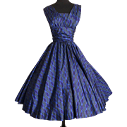Vintage 1950s Dress//50s Dress//Ann Fogarty// Garden Party//New Look//Mod//Mad Man//Rockabilly