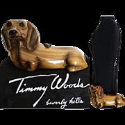 Timmy Woods Handbag// Dachshund//Tags Attached//Dog//Shoulder Bag//Doxie//Weiner Dog//Dust Cover