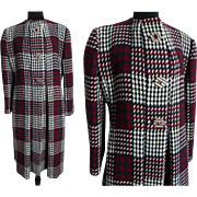 Vintage Pauline Trigere Coat//Designer Coat//Winter//Coat//1980s coat//Vintage 1980s Coat//80s Coat//Pauline Trigere//