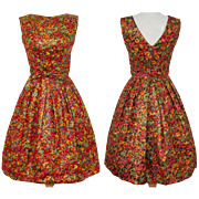 Vintage 1950s Dress // Suzy Perette // 50s Dress //New Look //Femme Fatale//Rockabilly//Mad Man//Mod//Cocktail Dress