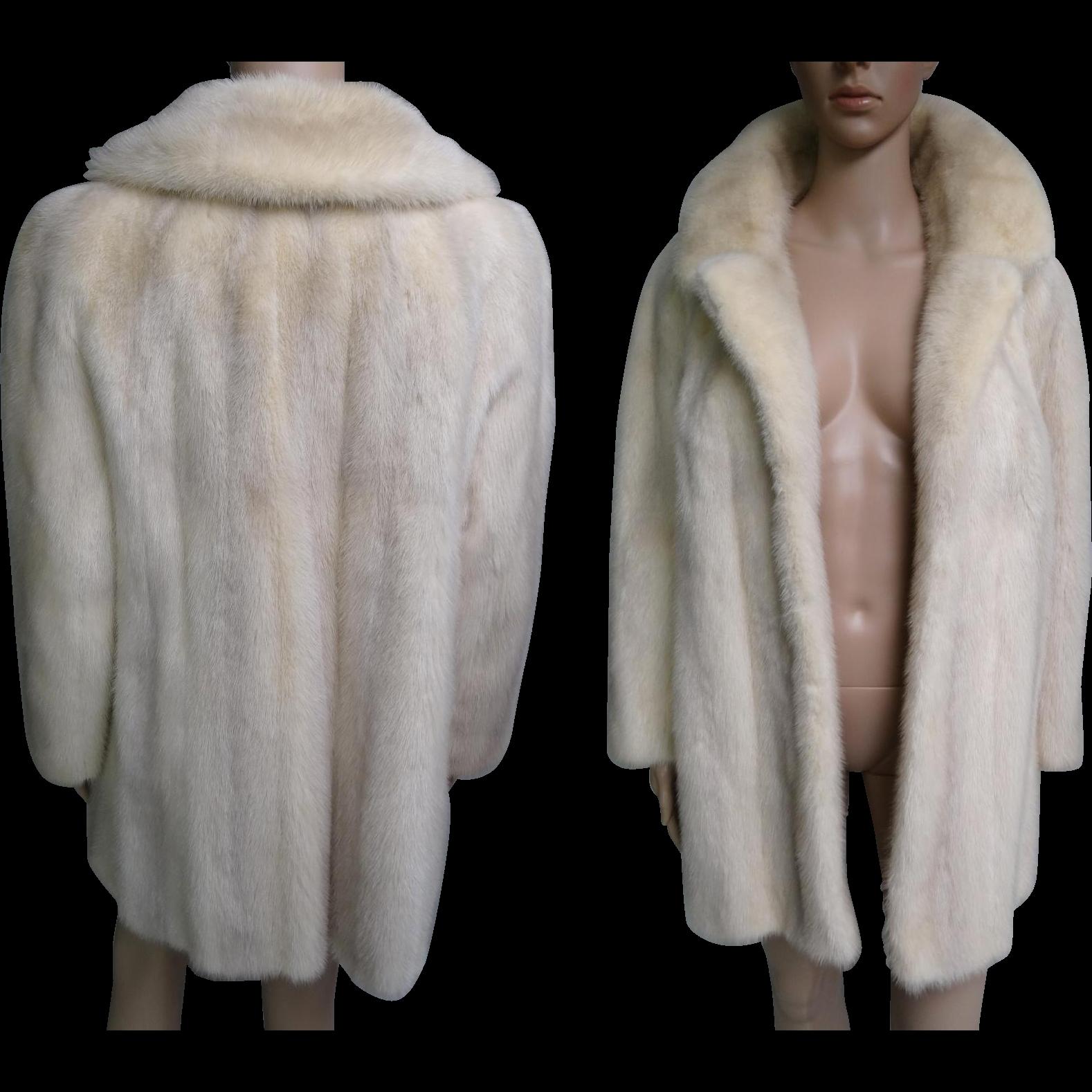 Vintage White Coat 54