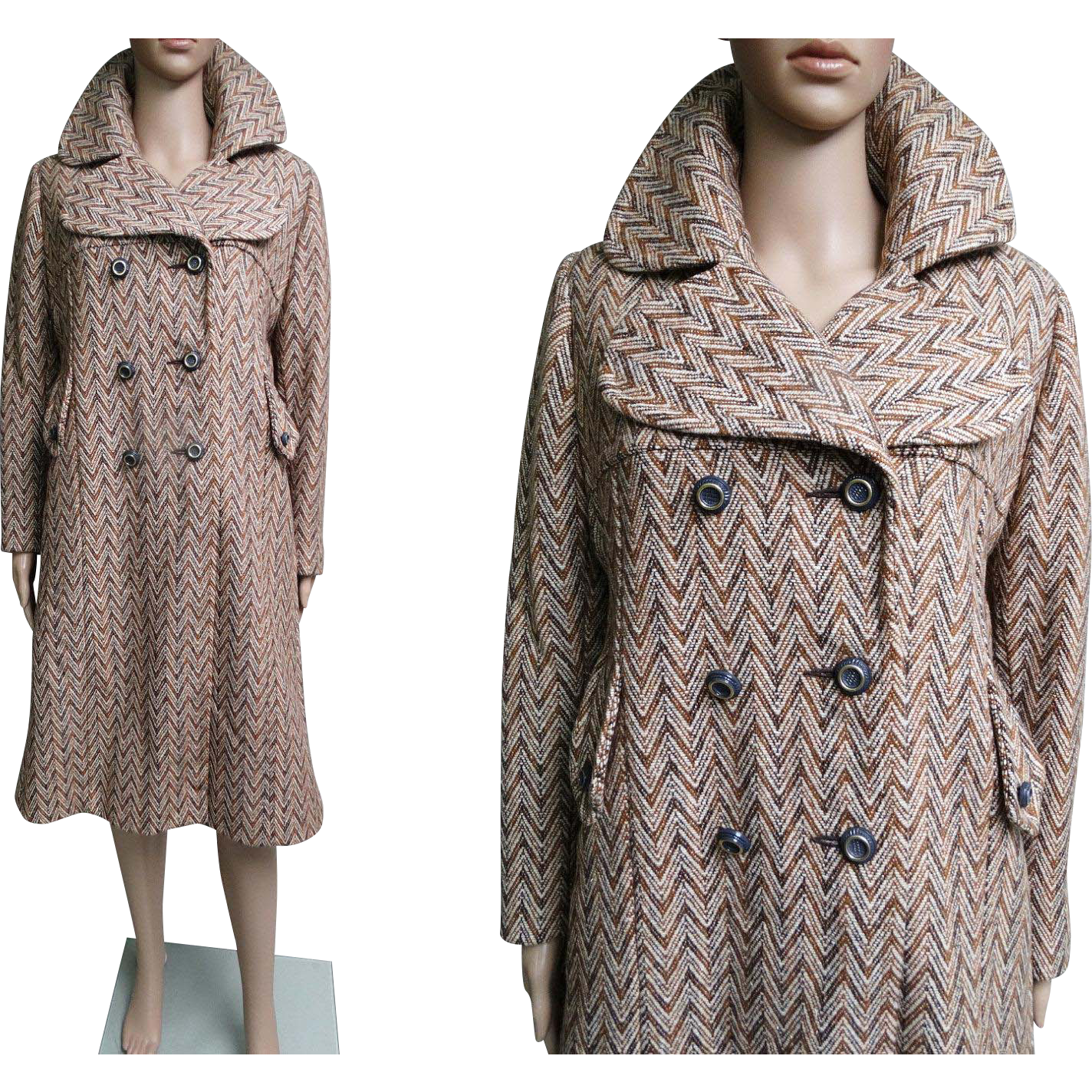 Vintage 1960s coat 60s coat double timeless traveling for 22 river terrace ny ny