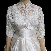 Vintage 1950s Dress//50s Dress//Tea Length//Fred Perlberg//New Look//Full Skirt Dress//Rockabilly//Mod//Full Circle Skirt//Matching Jacket//