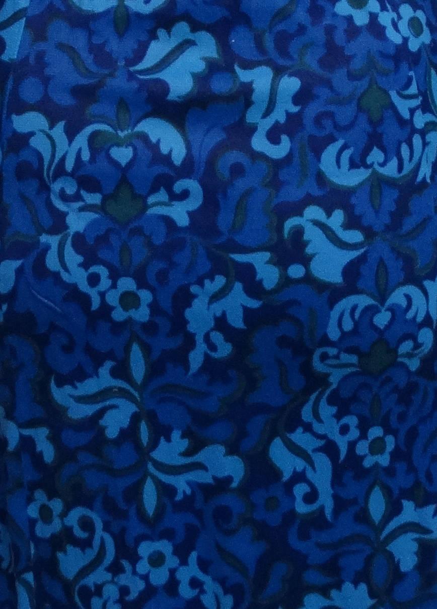 Vintage 1950s dress blue dress 50s dress rockabilly for 41 river terrace new york ny 10282